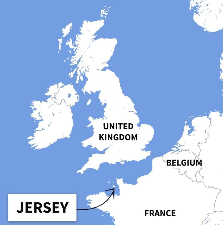 Map Of Uk Including Jersey.Where Is Jersey Uk An Island You Should Visit