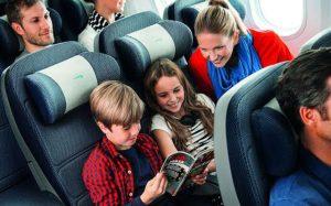 Children travel to Jersey