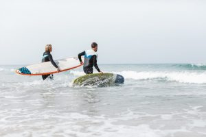 learn to surf in Jersey